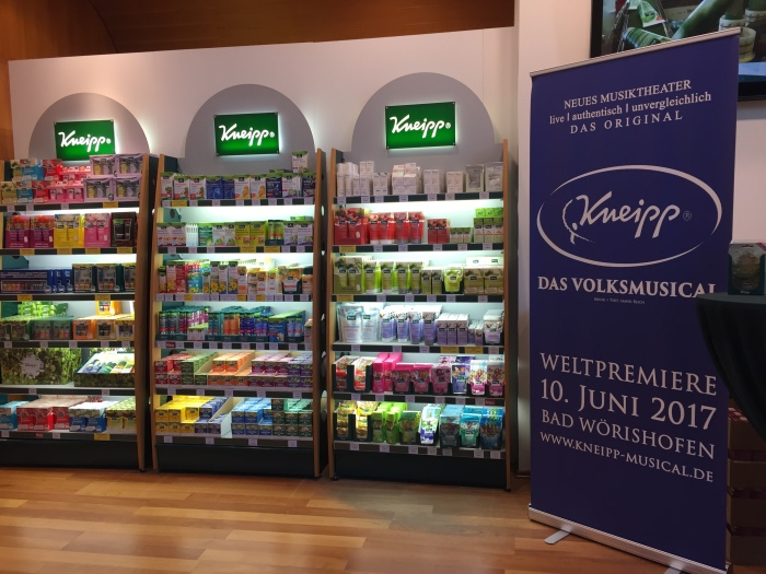 Display KNEIPP - SHOP Therme Bad Wörishofen